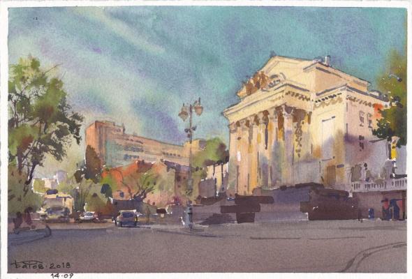 Anton Batov. Palace on the Yauza