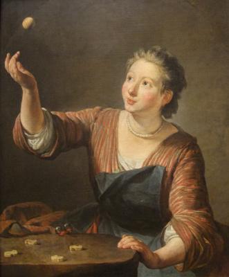 Jean Baptiste Simeon Chardin. Knuckles