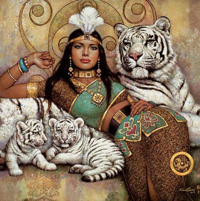 Карл Банг. Тигры