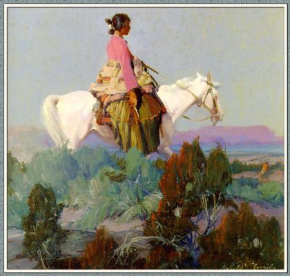 Джеральд Кэссиди. Пастушка на холмах