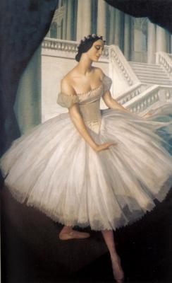 Alexander Yevgenyevich Yakovlev. Portraits of the ballerina Anna Pavlova