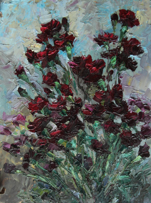 Svetlana Holodnyak. Ordinary bouquet
