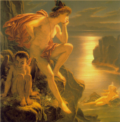 Joseph Noel Paton. Sir Oberon and the mermaid
