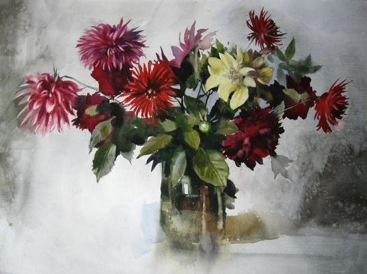 Александр Карпан. Осенние цветы