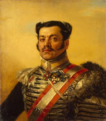 George Dow. Portrait of Ivan Efimovich Troschinsky