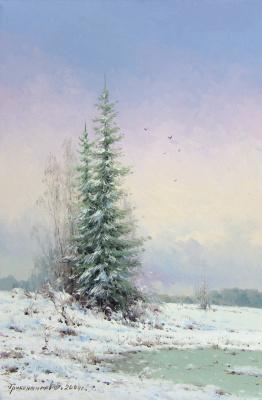 Vasily Ivanovich Gribennikov. Winter
