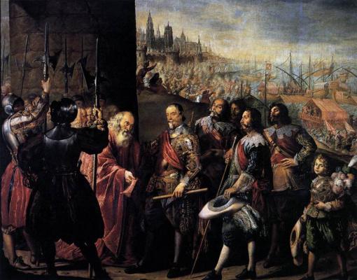 Антонио де Переда-и-Сальгадо. Освобождение в Генуе