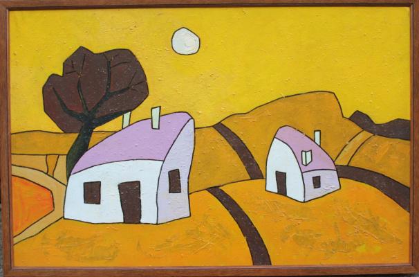 Богдан Задорожний. Crimean houses