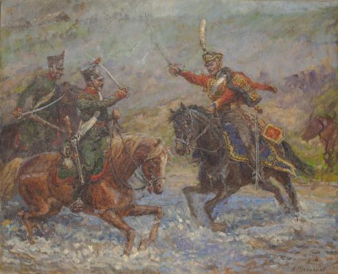 Aleksandr Chagadaev. Duel