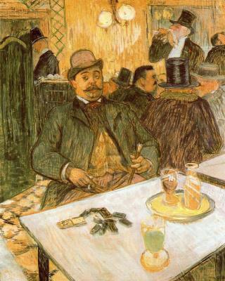 Анри де Тулуз-Лотрек. Месье Буало в кафе