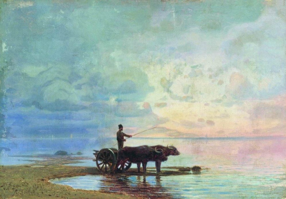 Fedor Alexandrovich Vasilyev. On the seafront