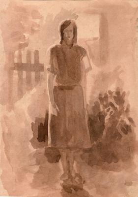 Алексей РуСАК. Стоящая женская фигура