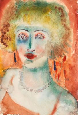 Otto Dix. Girl