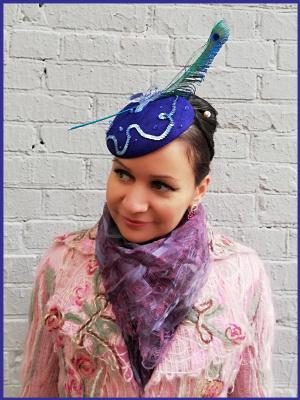 "Natalia Vladimirovna Solntseva. Hat ""Starry Sky"""