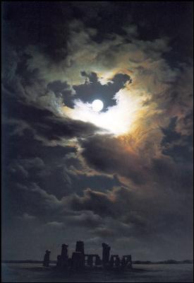 Анна Садворс. Ночь