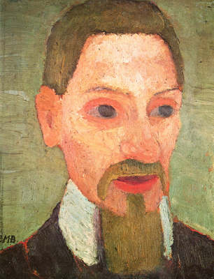 Паула Модерзон-Беккер. Портрет Райнера Марии Рильке