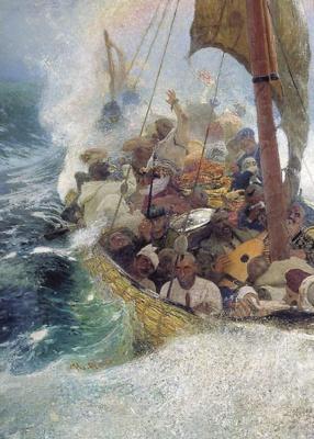 Ilya Efimovich Repin. The Cossacks on the Black sea