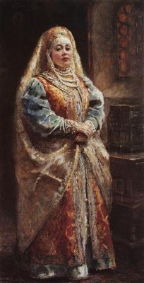Konstantin Makovsky. Portrait