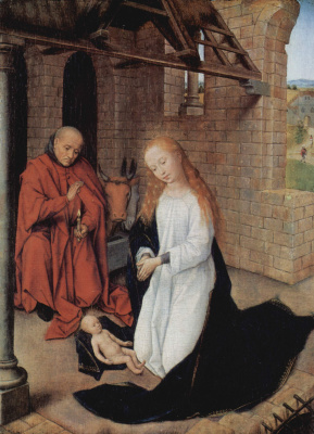 Hans Memling. The Birth Of Christ