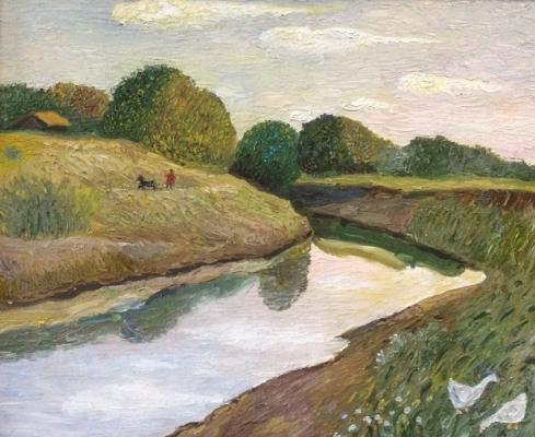 Владимир Петрович Чернов. Small river