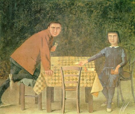 Balthus (Balthasar Klossovsky de Rola). Card game