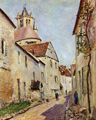 Alfred Sisley. Street Tannery