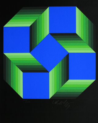"Victor Vasarely. ""Malom Petit"""