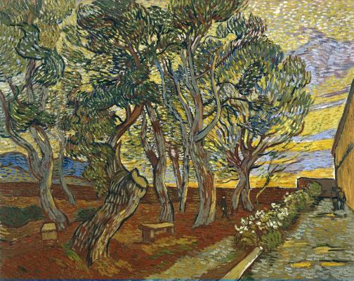 Vincent van Gogh. Shelter garden