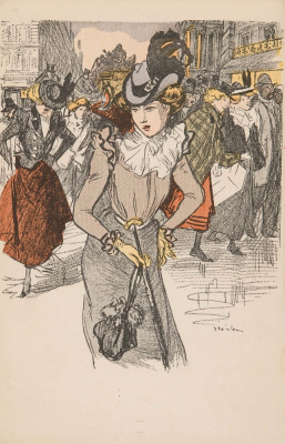 Theophile-Alexander Steinlen. Fashionista