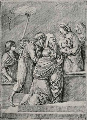 Якопо де Барбари. Поклонение волхвов