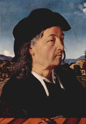 Пьеро ди Козимо. Портрет Джулиано да Сангалло