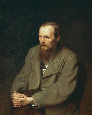 Василий Григорьевич Перов. Портрет писателя Ф.Достоевского