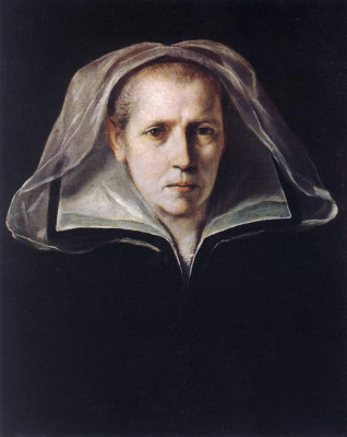 Guido Reni. Portrait of the artists mother