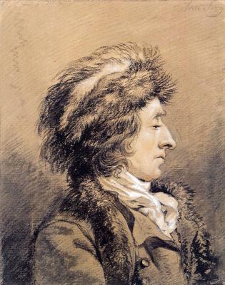 Абрахам ван Стрий. Человек с меховой шапке