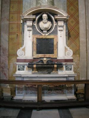 Gian Lorenzo Bernini. The Tombstone Of Giovanni Vigevano