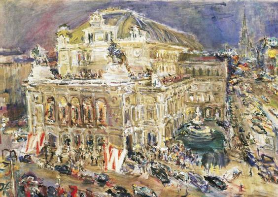 Oskar Kokoschka. Vienna State Opera