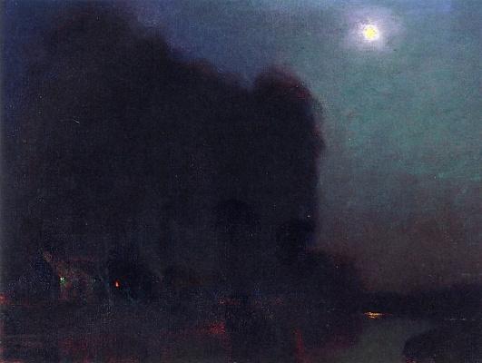 Charles Rollo Peters. Lunar landscape