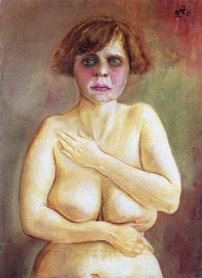 Otto Dix. Half naked