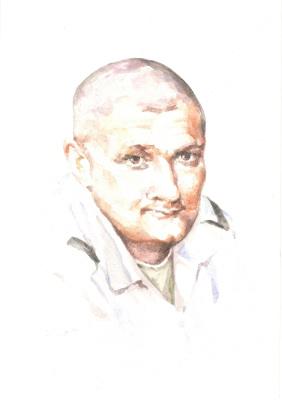 Иван Александрович Долгоруков. Портрет военнослужащего