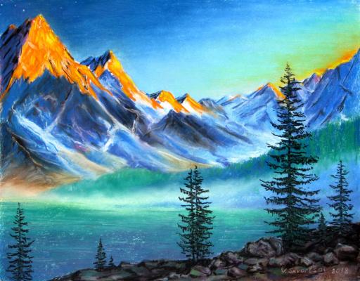 Vladimir Skvortsov. Mountain Lake