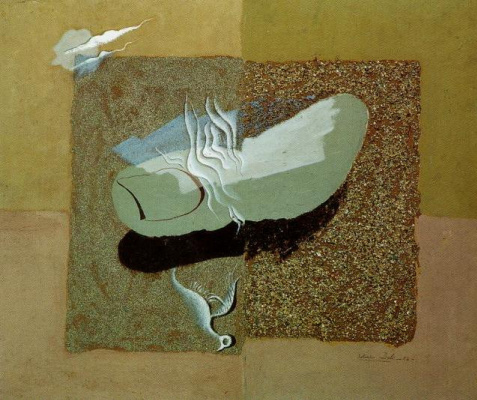 Salvador Dali. Wounded bird