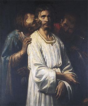 Thomas Couture. The Kiss Of Judas