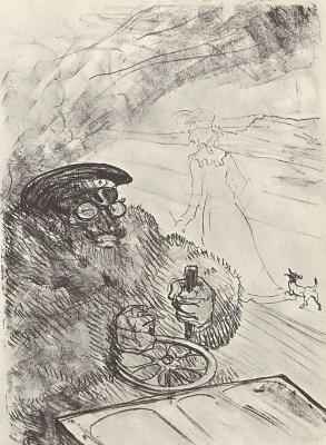 Henri de Toulouse-Lautrec. Motorist
