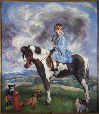 Игнасио Сулоага. Портрет Каэтаны Фитц-Джеймс-Стюарт-и-Сильва, 18-й герцогини Альба