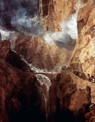 Devil's bridge, Saint Gotthard