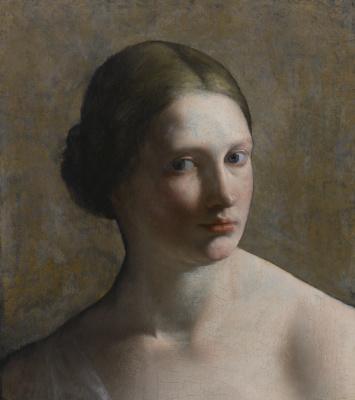 Орацио Джентилески. Голова женщина