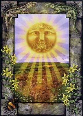Пол Мейсон. Солнце, священный круг Таро