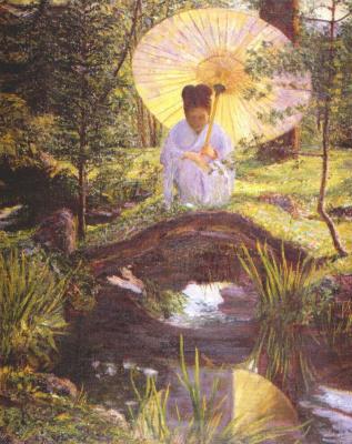 Перри. В японском саду