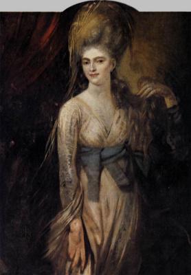 Johann Heinrich Fuessli. Portrait of a young woman