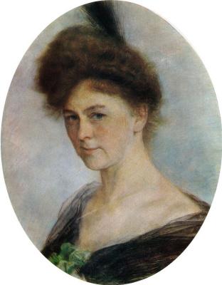 Isaac Levitan. Portrait Of E. P. Kolosovsky